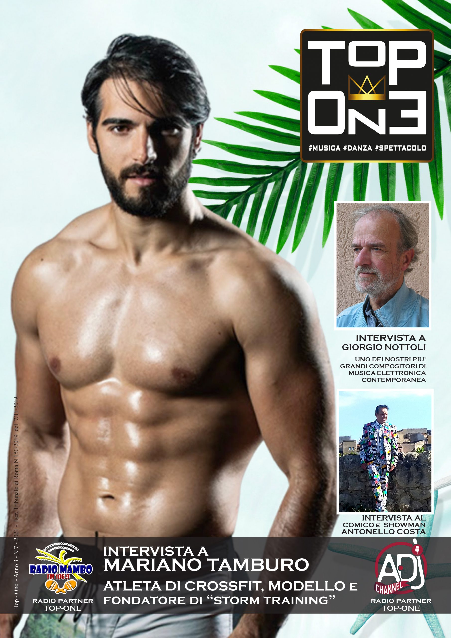 TOP-ONE ANNO 3 N 7 – SOMMARIO